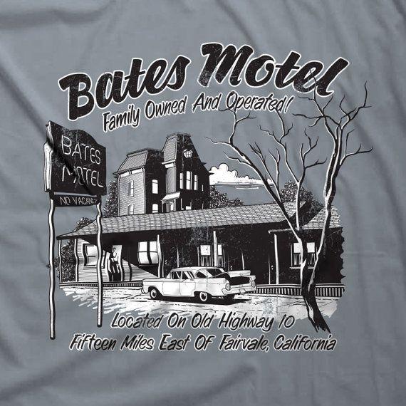 Bates Motel T-shirt Parody Psychos Norman Bates by Nifteez on Etsy