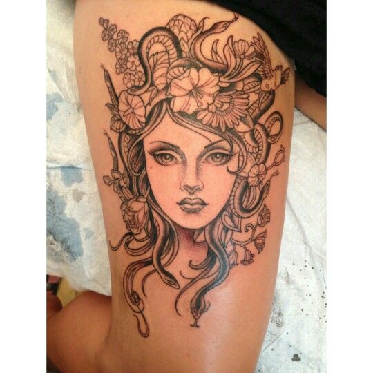 Look what i just came across on pinterest! @kimsaigh #medusa #tattoo