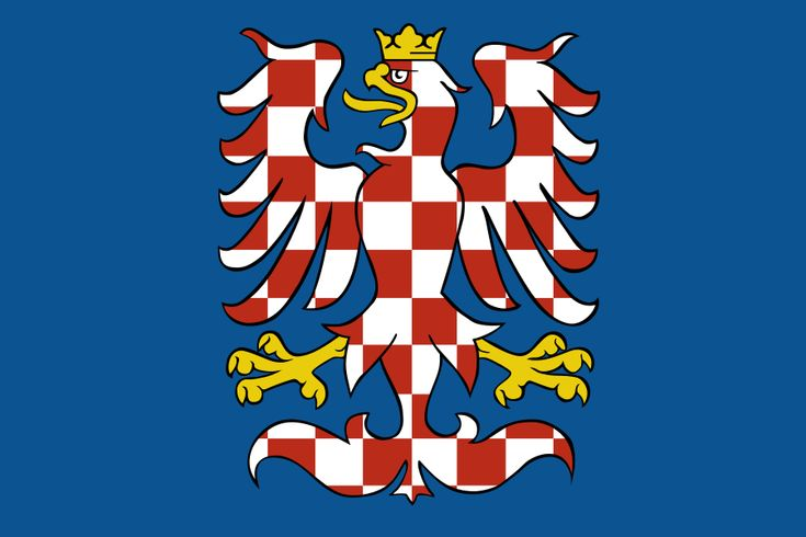 Banner of arms of Moravia.svg