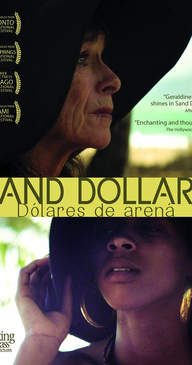 """Sand Dollars (2014)  """"Dólares de arena"""" An older European woman becomes enchanted with a young Dominican woman who must struggle to make ends meet. Love brings a flow of entanglements in a drama which unfolds like palm trees in an irresistible storm."""