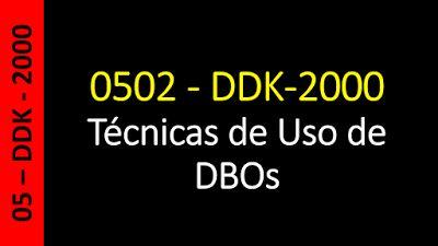 Totvs - Datasul - Treinamento Online (Gratuito): Datasul - 0502 - DDK-2000 - Técnicas de Uso de DBO...