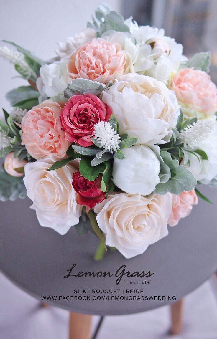 79 best Silk Flower Bouquets images on Pinterest | Silk flower ...