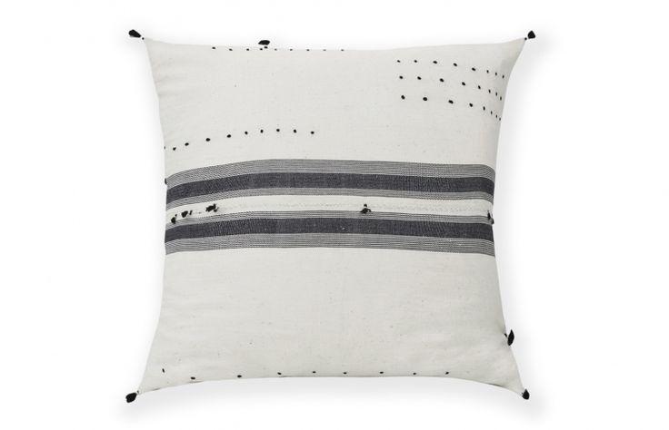 Stripes & Tassel Pillow