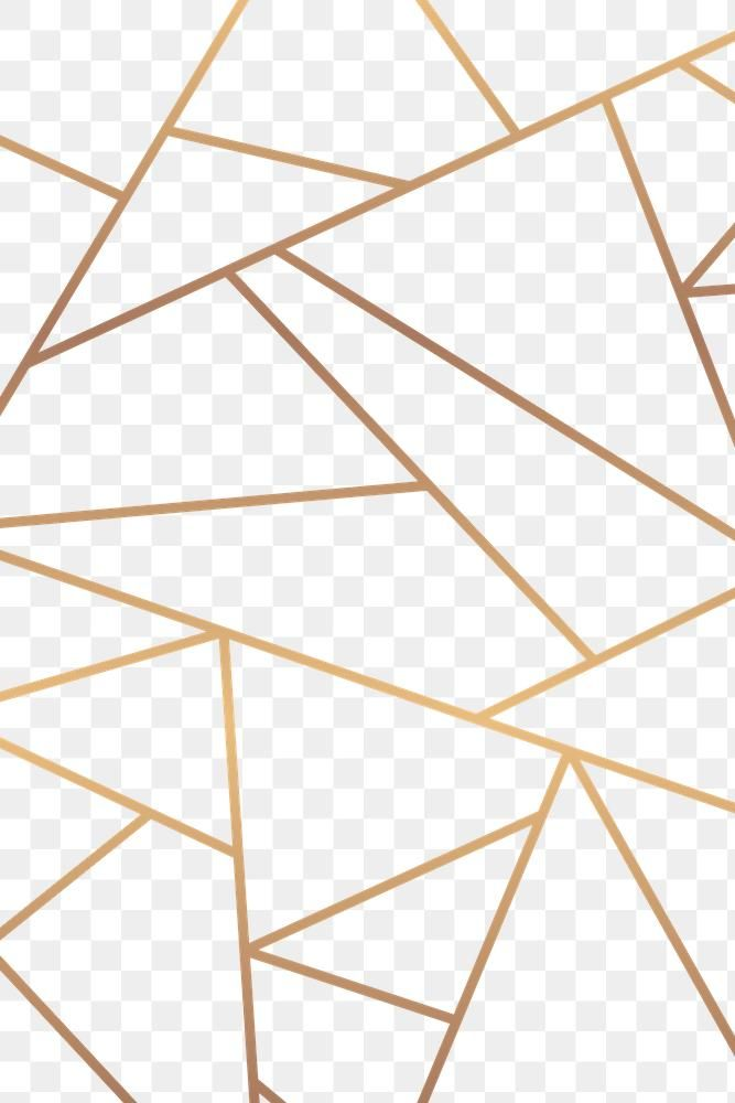 Gold Geometric Triangle Pattern Png Background Free Image By Rawpixel Com Sasi Background Patterns Mosaic Patterns Background Design