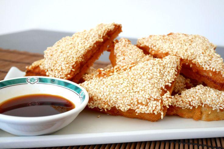 Toast di gamberi cinesi