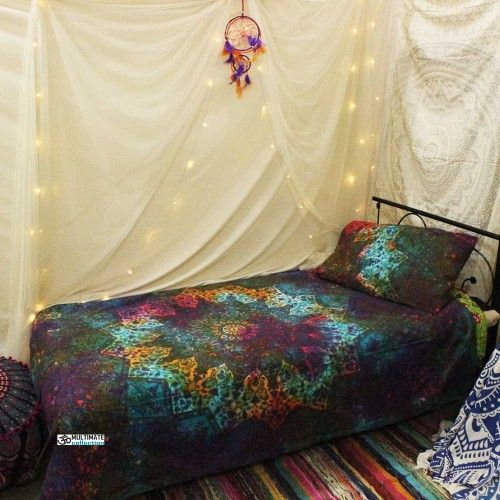 Dramatic Twin Duvet Cover With Pillow Set