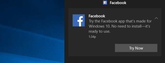 Hey Microsoft, Stop Installing Apps On My PC Without Asking  ||  I'm getting sick of Windows 10's auto-installing apps. Apps like Facebook are now showing up out of nowhere, and even displaying notifications begging for me to use them. I didn't install th