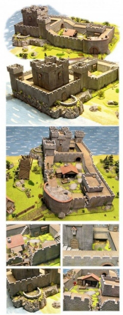 how to build a big castle