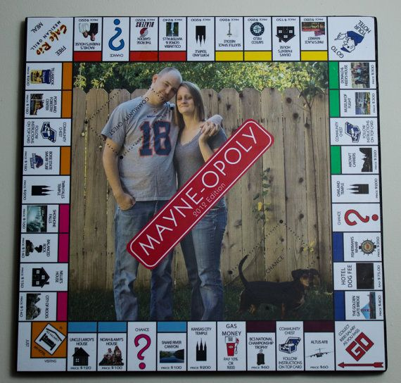 Custom Monopoly Game by CustomizedbyRachel on Etsy