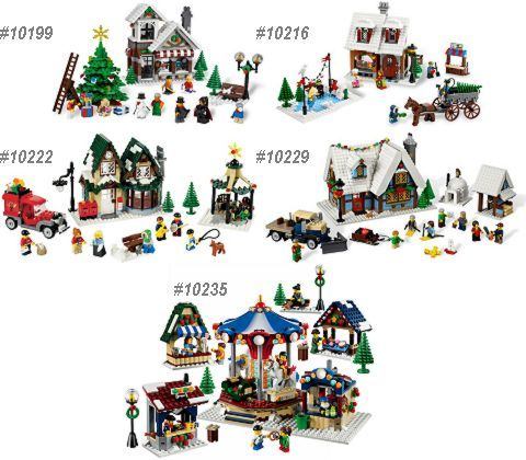 LEGO Winter Village Series - http://thebrickblogger.com/2013/09/lego-winter-village-market-available-now/