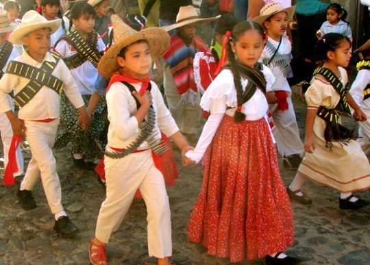 Clothing: Traditional Mexican Children Clothing