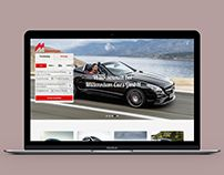 Car Rent website Inspiration