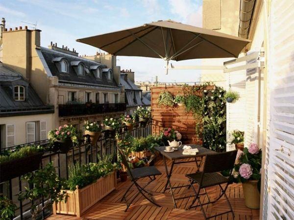 am nagement de terrasse et balcon en style m diterran en. Black Bedroom Furniture Sets. Home Design Ideas