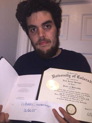 Defended my dissertation