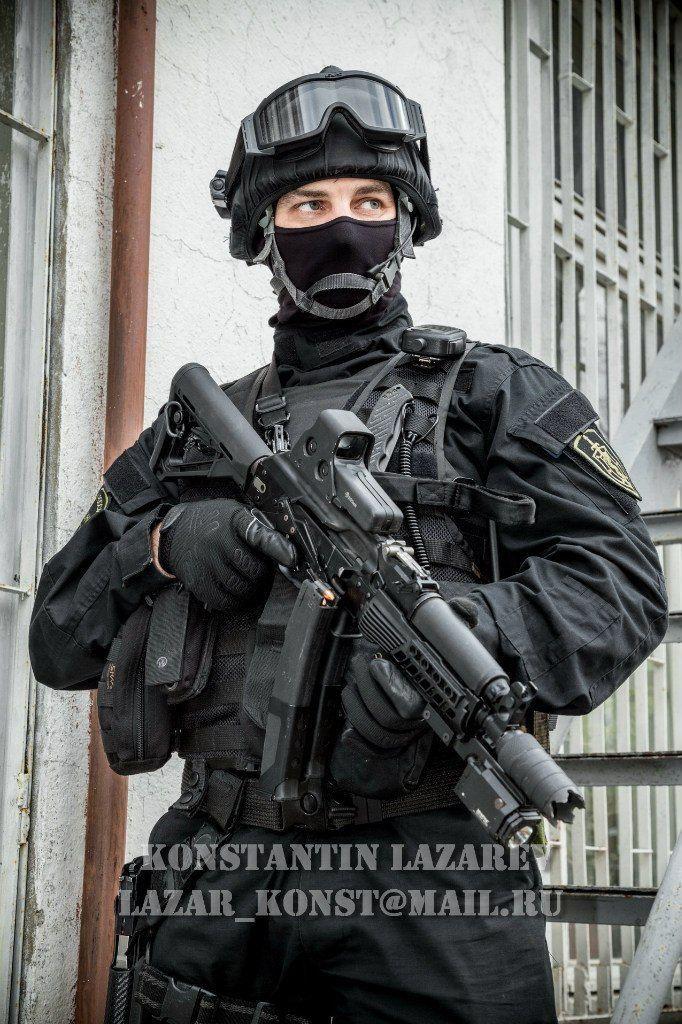 Spetsnaz Alpha Group member