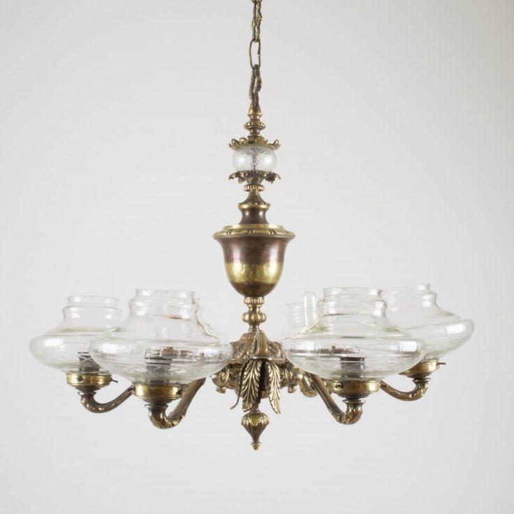 Lámpara de techo o araña de los años 30   De techo   Iluminación