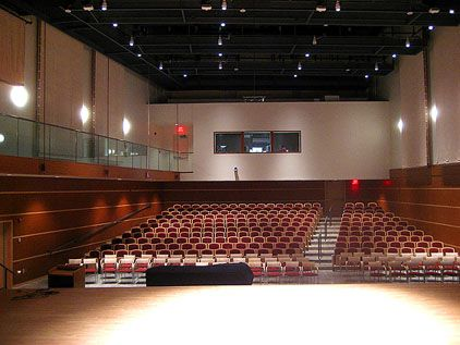 Wilson Concert Hall from the stage.