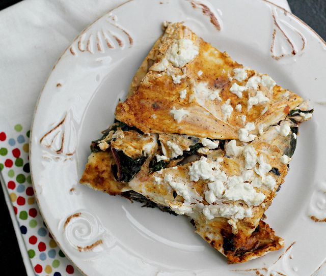 Mushroom And Black Bean Tortilla Casserole Recipes — Dishmaps