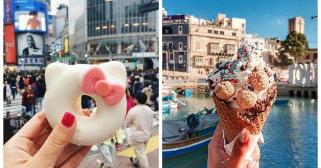Top 23 des photos de la meuf qui fait le tour du monde de la bouffe sur Instagram ça vend du rêve