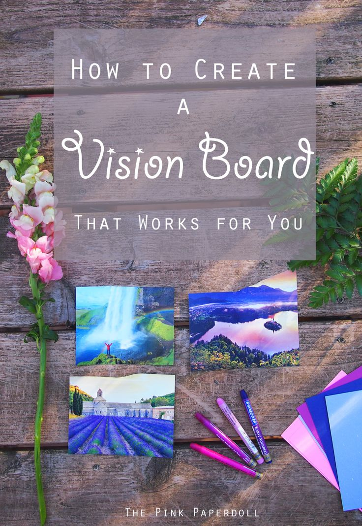 5 powerful vision board techniques to transform your life this year. Goal setting really works if you do it right. Collage pictures you enjoy that represent the dreams & self improvement you want to accomplish. For blogging goals, lifestyle goals, career goals etc.