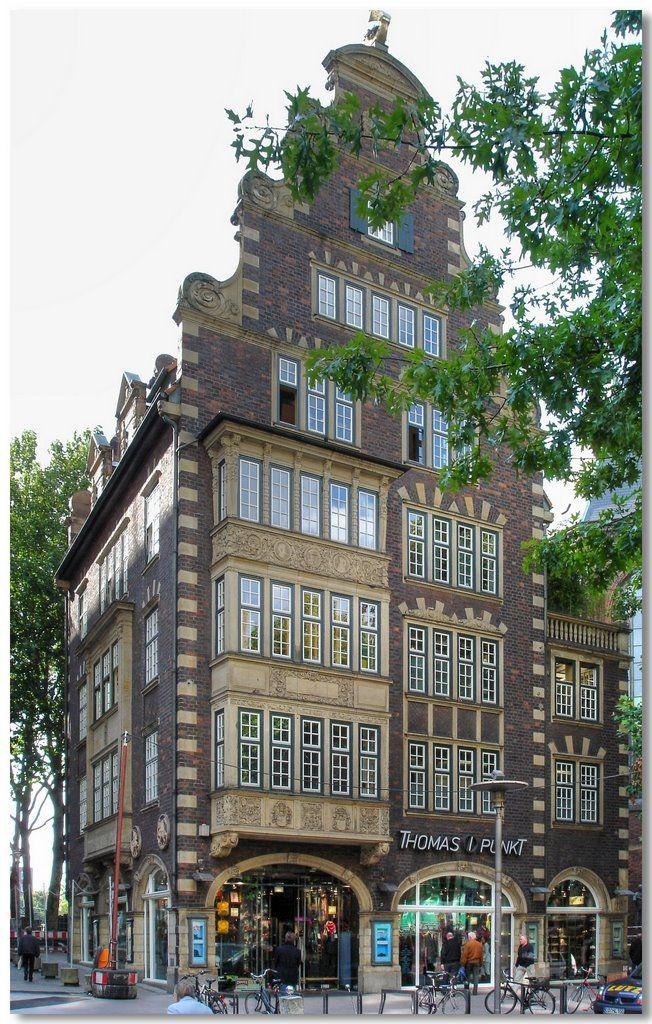 Hamburg-Altstadt. Hulbe-Haus