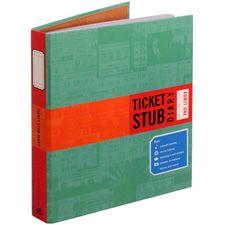 Ticket stub diary - definitely something i could use to put all those movie tix I save
