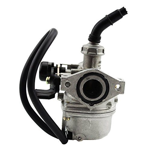 GOOFIT PZ19 Carburetor for Taotao Sunl Baja Roketa Kazuma SSR Polaris Honda XR/CRF 50cc 70cc 90cc 110cc 125cc ATV Scooter Dirt Bike Go Kart Pocket Bike - Fit Model: Taotao 4 stroke 49cc 50cc-125cc(horizontal engine,NOT for GY6 Engine) all year of Kazuma Meerkat 50cc Kazuma Falcon 110 Panda 110 Lacoste 110 Panterra 50cc 70cc 80cc 90cc 110cc Sunl 70 90 110 Honda CRF50 CRF50F 50cc 2008-2012 Honda CRF70 CRF70F 70cc 2008-2012 Honda Aero 80 1983-1985 Ho...