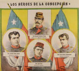 Relatos de Guerra: Soldados de Chile en la Guerra del Pacìfico: LOS HÉROES DE LA CONCEPCIÓN