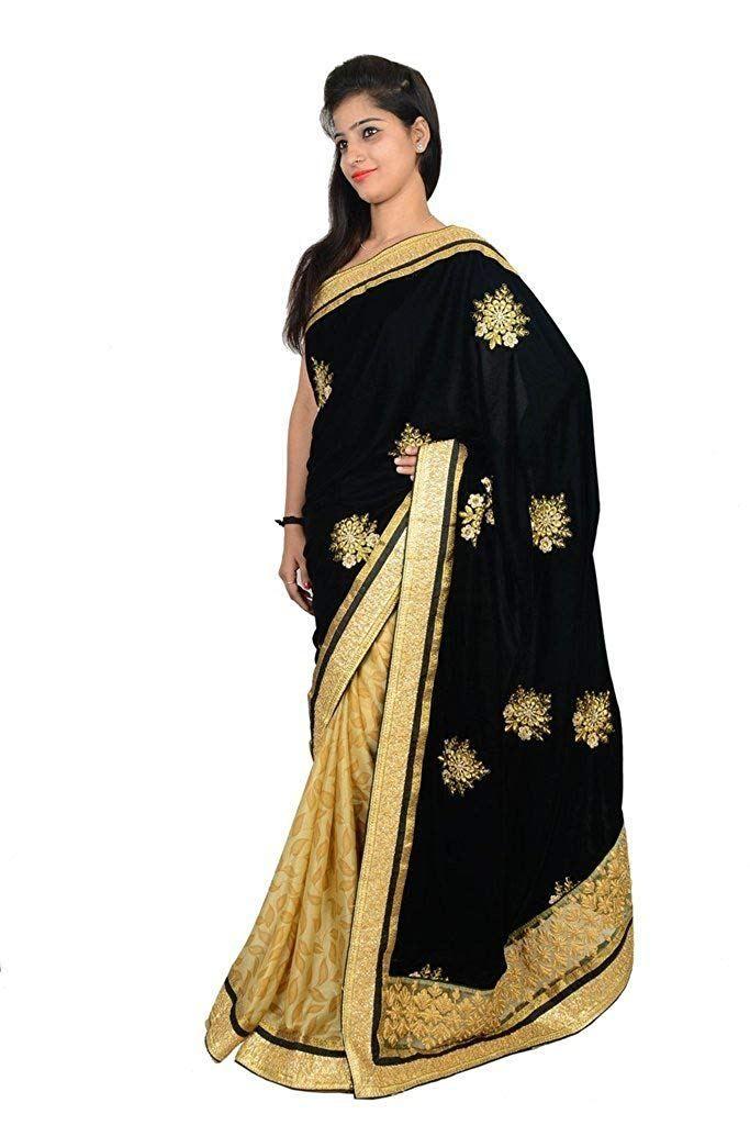 2f5b35d05b Velvet Saree . Velvet Women's Sarees online at best prices in India ...