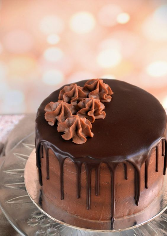 Nutellás torta csurgatva recept