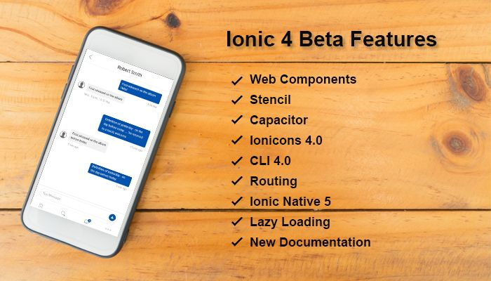 What's new Features introduced in Ionic 4   Mobile App