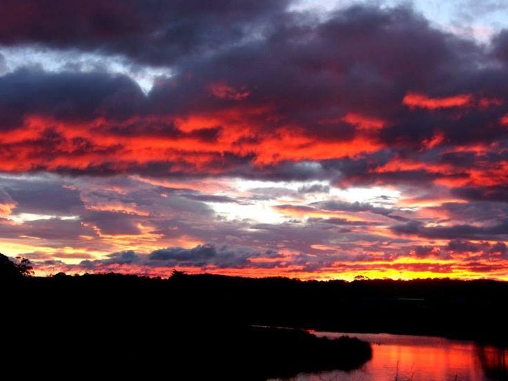 Stunning sunset @ Tasmania