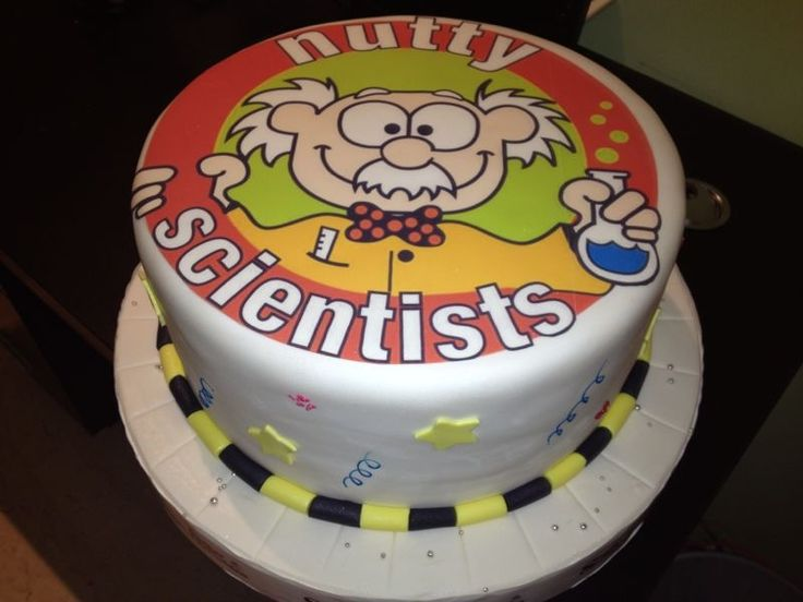 Bithday party from Nutty Scientists!! Yummy
