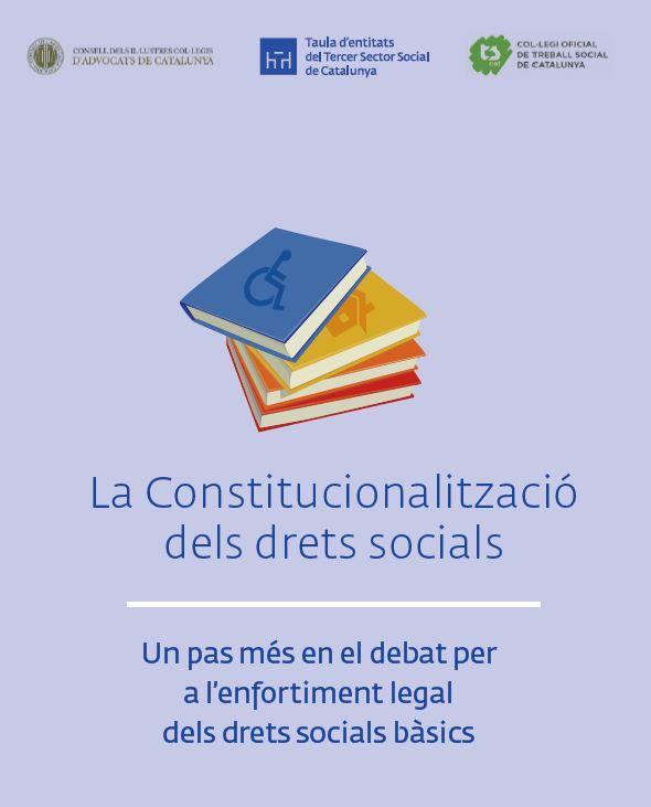 La constitucionalització dels drets socials   TSCAT