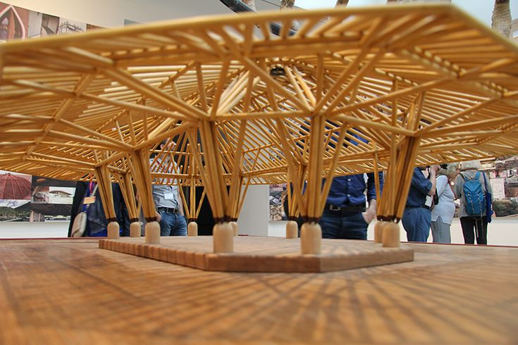 venice architecture biennale 2016 simon velez bamboo designboom