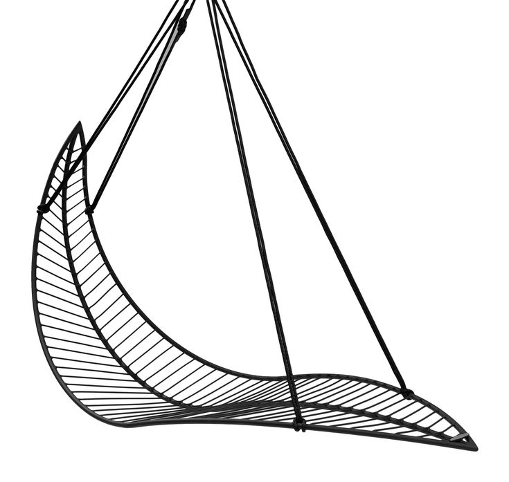 Buy Leaf Hanging Swing Chair by Studio Stirling - Made-to-Order designer Furniture from Dering Hall's collection of Contemporary Mid-Century / Modern Transitional Organic Accent & Occasional.