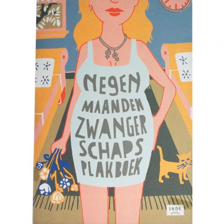 Negen maanden zwangerschap plakboek van Uitgeverij Snor