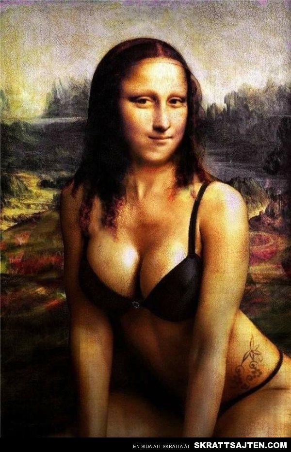 Sexiga Mona Lisa