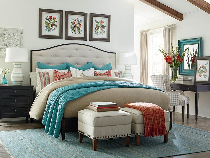 51 Best Images About Upholstered Beds On Pinterest