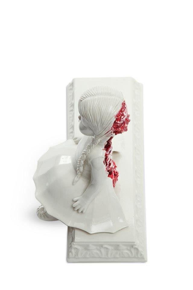 Best MARIA RUBINKE Images On Pinterest Contemporary Art - Amazingly disturbing porcelain figurines by maria rubinke