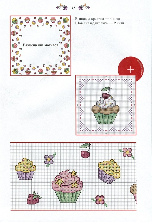 cupcakes border 2