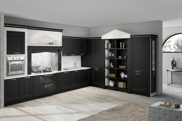 Kitchens that are precious and refined, with undisputed elegance and great convenience. Soft and sinuous shapes create furniture of great charm characterised by careful craftsmanship and rich details. http://www.spar.it/cucine-prestige/?utm_source=pinterest.com&utm_medium=post&utm_content=cucine-prestige&utm_campaign=pin-cucine-classiche