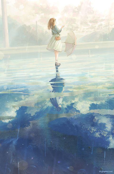 Anime Girl, Background