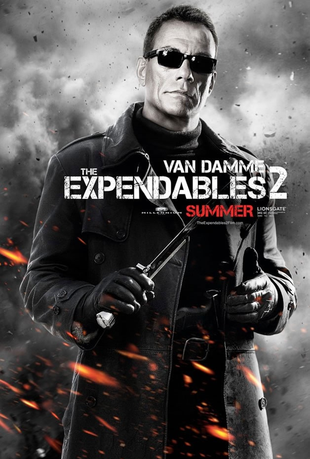 Van Damme, Expendables 2 --> incontournable :)