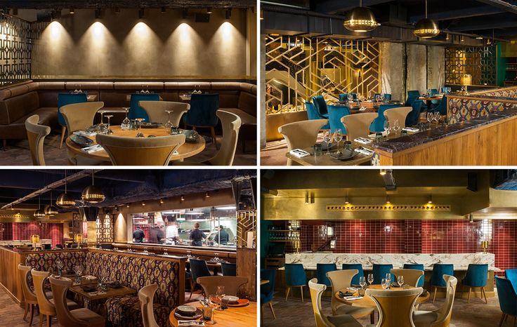 luxury restaurant and bar in paris manko by laura gonzalez. Black Bedroom Furniture Sets. Home Design Ideas