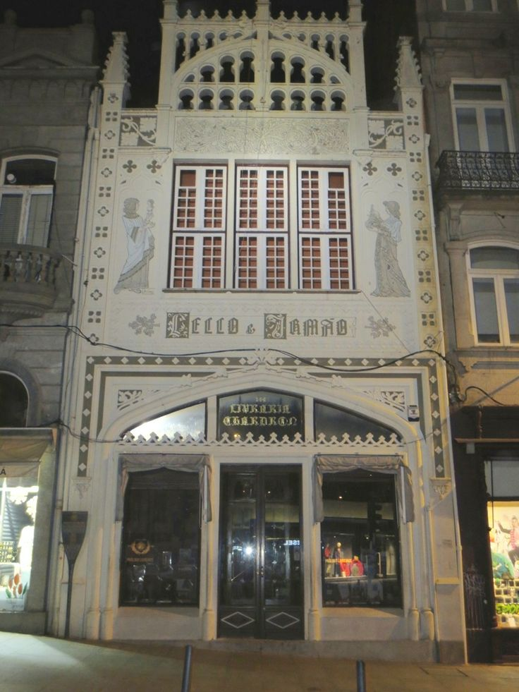 The famous old bookstore; Livraria Lello. Very beautiful inside!!! But not allowed to make there pictures.