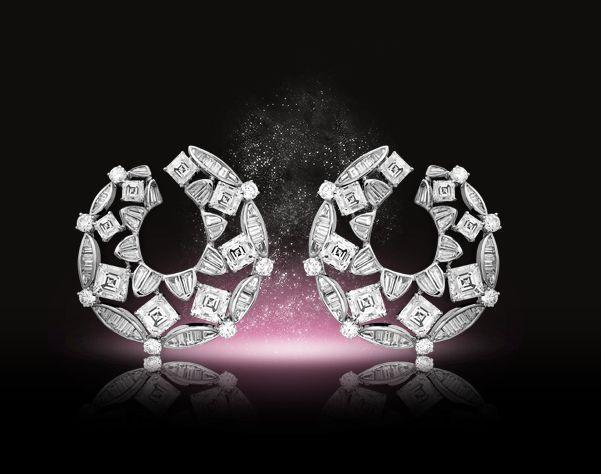 Diamond earrings by nirav modi - Scheherazade collection