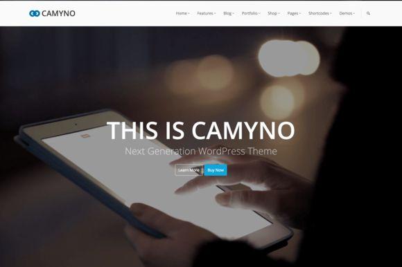 Check out Camyno - Premium WordPress Theme by Themefyre on Creative Market