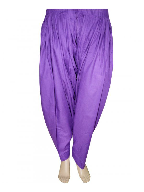 Purple Patiala Salwar online at best price  Patiala Salwar Direct from Patiala    Cotton Metrial 3 Meter Patiala Salwar    Length 39 Inch    Free Size    Wash Care - Soft Wash  Shop Now : https://www.punnjab.com/purple-patiala-salwar-jsp1040