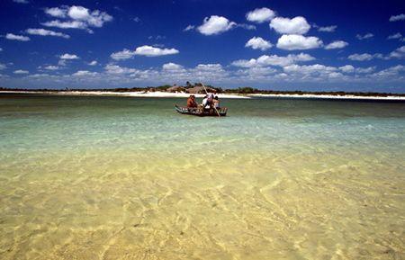 Praia de Jericoacoara - Uma das mais belas do mundo - Ceará - Brasil